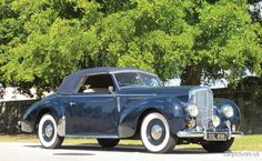 Bentley Mark VI Drophead Coupe by Graber 1947.