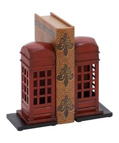 Look what I found on #zulily! Metal Bookend Set #zulilyfinds