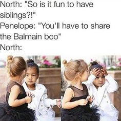 Nori and Penelope on Balmain