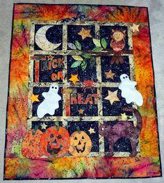 halloween quilt ideas | Halloween quilt | Flickr - Photo Sharing!