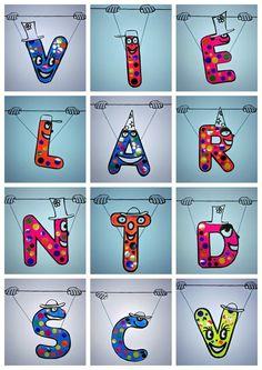 99_Lettres_Vive la rentrée !_montage Petite Section, French Education, Alphabet Art, Button Art, Teaching Art, Teaching Ideas, Art For Kids, Back To School, Art Projects