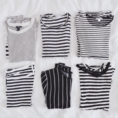 When it comes to stripes, there's no such thing as too much ⚓️ #stripesonstripesonstripes #hoarder #morningwisdom