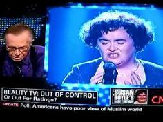 Why did Susan Boyle lose?