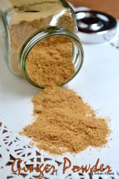 Homemade Ginger Powder