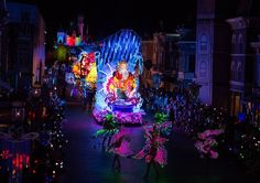 Paint the Night parade premieres at Hong Kong Disneyland illuminating the park with fully LED, interactive entertainment - Little Mermaid