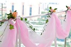 Image result for balcony wedding decorations
