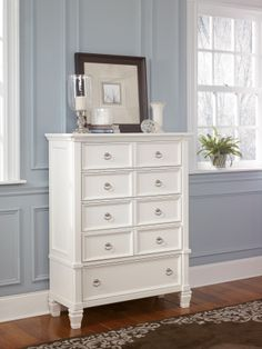 Prentice Chest- love the colors and style in this picture of everything