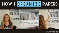 How to Organize Papers with Magazine Holders (Konmari Inspired) Organizing Important Papers, Organizing Documents, Magazine File Holders, Desk Organization Diy, Organising, Cardboard Storage, Magazine Files, Photo Storage, Konmari