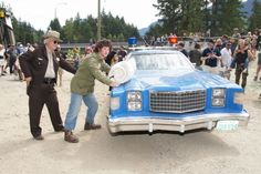 Sylvester Stallone Look-a-Like Reenacted Arrest Scene, Rambo Bridge Final Take in Hope BC Bid an Emotional Farewell with Nostalgic Fans As Actor Stephen Chang Promoted New Movie 'Life For Mile'