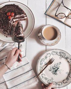 Une forêt-noire pour un tea time à la maison   Louise Grenadine - blog slow lifestyle à Lyon