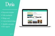 Check out Dyria - Wordpress magazine / blog by WPKnights on Creative Market