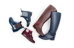 Voglia di pioggia con i rain boots GIOSEPPO | The colours of my closet