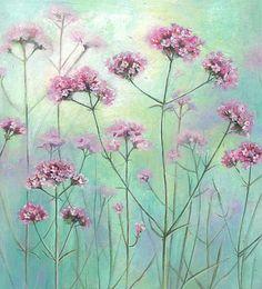 Sarah Summers Watercolor Flowers, Watercolor Paintings, Watercolours, Foto Transfer, Paper Wallpaper, Love Illustration, Decoupage Paper, Fantastic Art, Flower Pictures