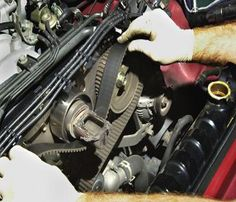 A Cambelt /timing belt is situated in the front or side of your engine behind the plastic cambelt covers.This belt has been designed to reduce friction and generate more horse power than previous component called the Timing Chain.