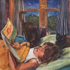 neil-hollingsworthhistoria-de-sereias-aquarela