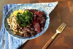 black bean power bowl