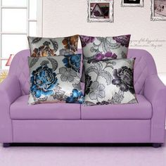 2015 New Fashion Floral Throw Waist Pillow Case Cushion Cover Shell Car Sofa Home Decors 1OES 5167-in Cushion Cover from Home & Garden on Aliexpress.com | Alibaba Group