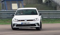Golf GTI Clubsport S and Megane 275 Trophy-R Go Nuts in Track Test :  It seems like Steve Sutcliffe is now collaborating with Evo magazine and that's a good thing because only he could have come up with this review so late in the game. The  Megane 275 Trophy-R  is a pretty old-looking machine but it's the perfect track hatch to take on the Volkswagen Golf GTI Clubsport S don't you think?   3 photos  The GTI has more power torque and less weight to carry around - it sounds like Steve is…