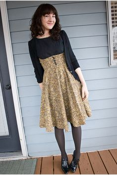 love dress and tights