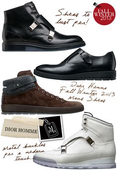 myMANybags: Dior Homme Fall Winter 2013 Mens Shoes