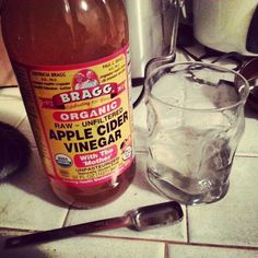 Apple Cider Vinegar beauty uses.  I have done the hair rinse and mask and it works great!