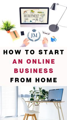 How To Start An Online Business From Home - Passive Income Lifestyles Online Business From Home, Home Based Business, Business Tips, Business Marketing, Media Marketing, Digital Marketing, Facebook Marketing, Creative Business, Work From Home Tips