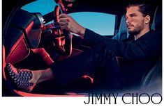 Jimmy Choo Man S/S 2015 ad campaign ft. #KitHarington by #StevenKlein