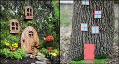 How to Transform Trees Into Enchanted Gnome Homes With Your Kids | My Kids' Adventures