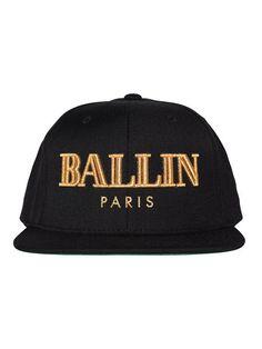 Ballin Snapback Black Types Of Hats 0ed2243818c9