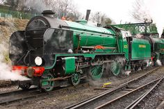 47s and other Classic Power at Southampton: Watercress Line Spring Steam Gala, 3rd March 2013