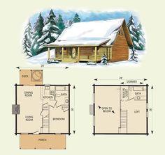 28 X 24 Cabin Floor Plans   ... porch 8 x 24 deck 8 x 12 second floor details loft 11 x 18 bath 8 x 10