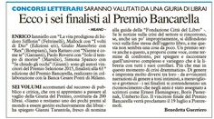Premio Bancarella 2015 - Premio Selezione Bancarella 2015 - Il Giorno