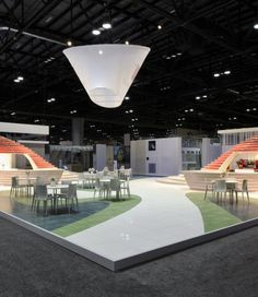 @aemexhibitions Exhibit design by E+I Studio (NY). Realized by A&M at Coverings 2012 (Orlando). http://www.aemexhibitions.com/