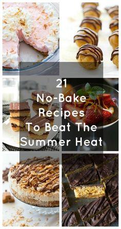 Community Post: 21 No-Bake-Rezepte gegen die Sommerhitze No Bake Treats, No Bake Desserts, Easy Desserts, Yummy Treats, Delicious Desserts, Sweet Treats, Dessert Recipes, Yummy Food, Icebox Desserts