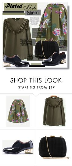 """""""Shein"""" by aminkicakloko ❤ liked on Polyvore featuring Serpui and Whiteley"""