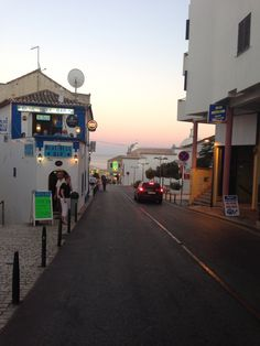 Old Town, Albufeira, Algarve, Portugal walked down this road every night heading down to the Old Town square for dinner