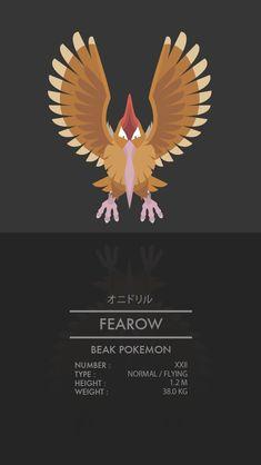 Fearow by WEAPONIX on deviantART