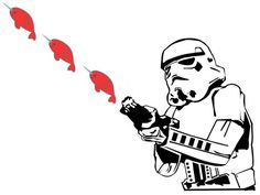 The Best Stormtrooper Makeovers -- Stormtrooper + Narwhals!!!