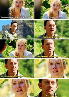 This scene made me see how mean Ben actually is - Juliet Burke and Ben Linus on Lost