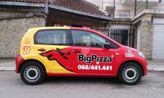Brendiranje vozila i poslovnih prostora Pacarti studio #Beograd #Brendiranje #Autografika #Dizajn #Marketing #Srbija #BigPizza