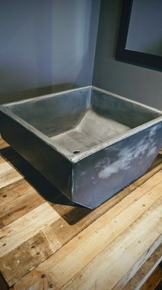 #microcement #bespoke #sink Commissioned for a tattoo parlour