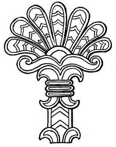 Southwestern & Native American Coloring Page | Symbols | Pinterest ...