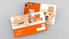 postcard marketing mockup