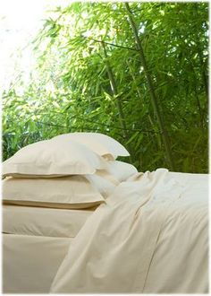 Bamboo sheets are the softest sheets I've ever slept on.