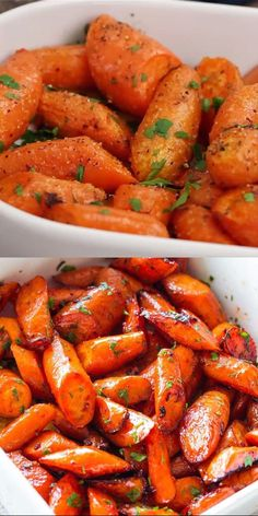 Ridiculously easy, yet tender and SO incredibly delicious roasted carrots with garlic AND butter. recipes chicken recipes crockpot recipes easy recipes for dinner recipes healthy food recipes Healthy Chicken Recipes, Lunch Recipes, Healthy Dinner Recipes, Vegetarian Recipes, Cooking Recipes, Easter Recipes, Easter Food, Spinach Recipes, Easter Desserts