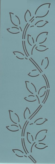 """Vine Border 3"""" - The Stencil Company"""