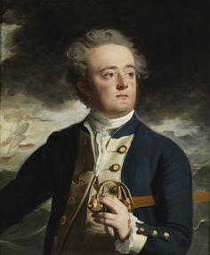 Captain John Loring, by Copley, ca. 1780