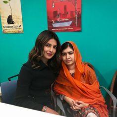 #UNGA #priyankachopra with #MalalaYusufjai at #UN general assembly