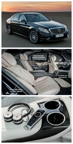 If you had the money would you get any of these cool features? 'Top 10 Outragous Luxury Car Featues'. Click to be blown away #spon #Mercedes