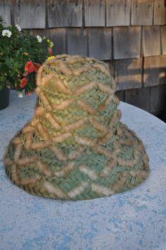 5edbc01ab4f VinTaGe Women s Beach Hat Italian made by IslandMarket on Etsy